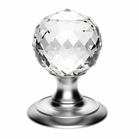 Crystal and Glass Door Knobs